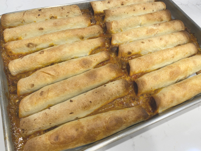 Finished Taquitos