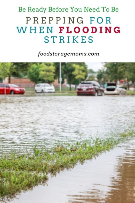 Prepping for When Flooding Strikes