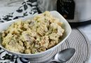 The Best Slow Cooker Garlic Mashed Potatoes
