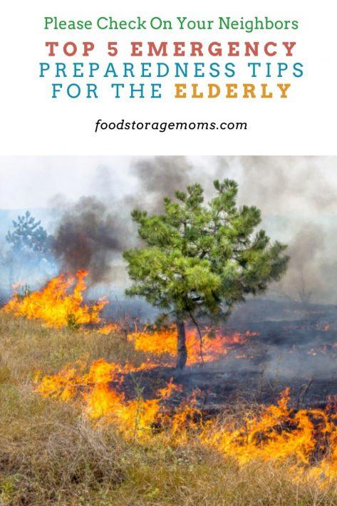 Top 5 Emergency Preparedness Tips for the Elderly