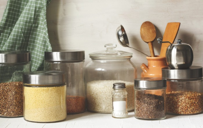 10 Food Storage Ideas When You Don't Have a Pantry