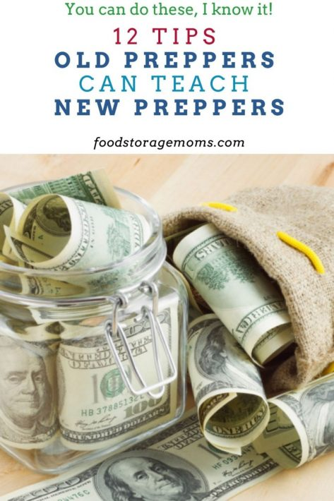 12 Tips Old Preppers Can Teach New Preppers
