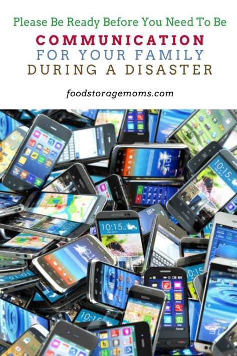 Communication for Your Family During a Disaster