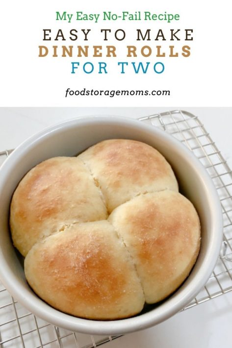 Easy To Make Dinner Rolls For Two