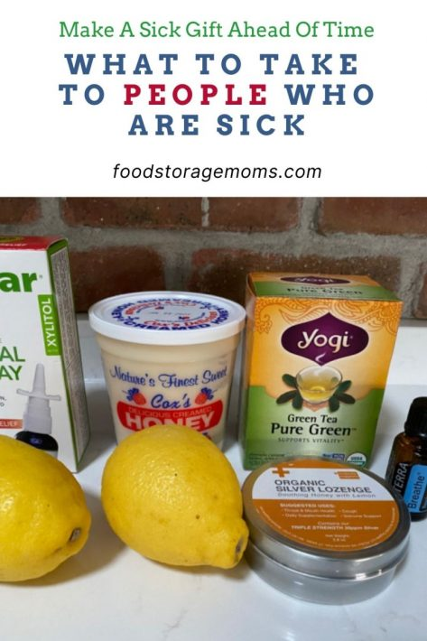 What to Take to People Who are Sick