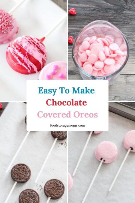 Easy To Make Chocolate Covered Oreos