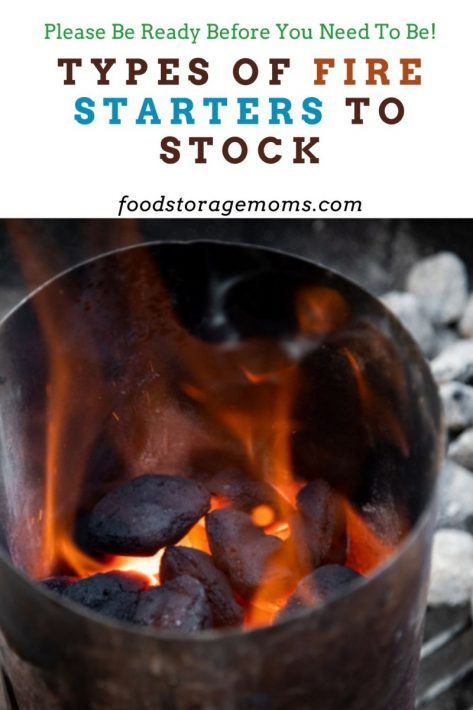 Types of Fire Starters to Stock