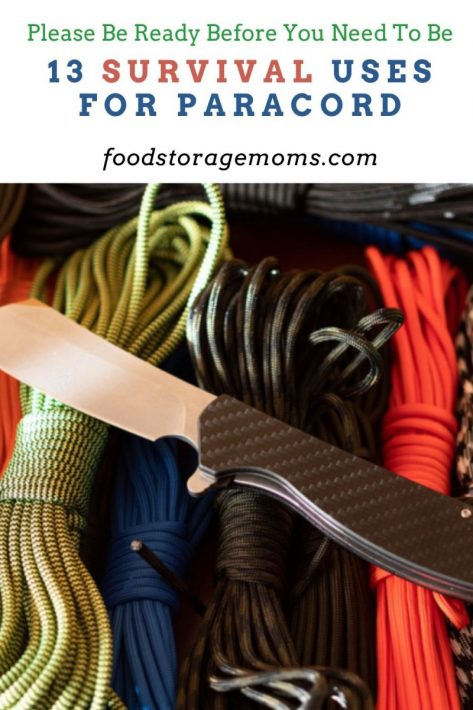 13 Survival Uses for Paracord