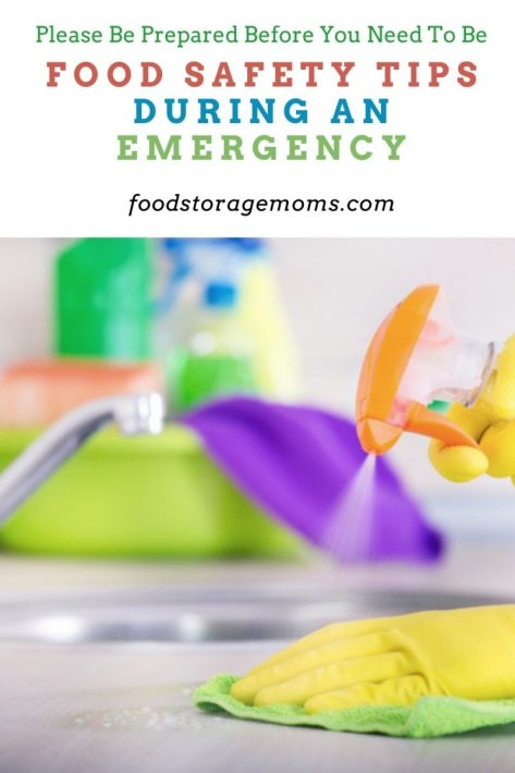 Food Safety Tips During an Emergency