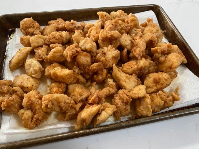 Cooked Chicken Nuggets