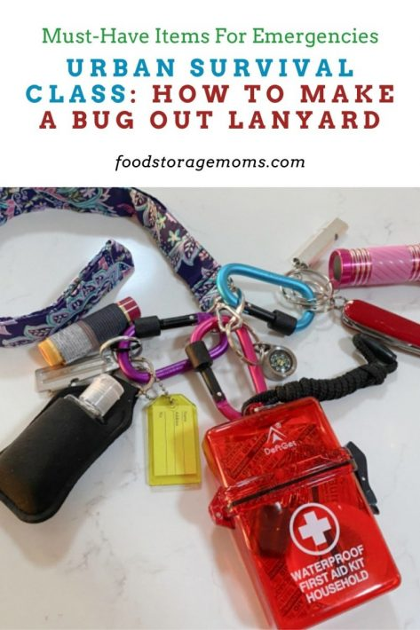 Urban Survival Class: How to Make a Bug Out Lanyard
