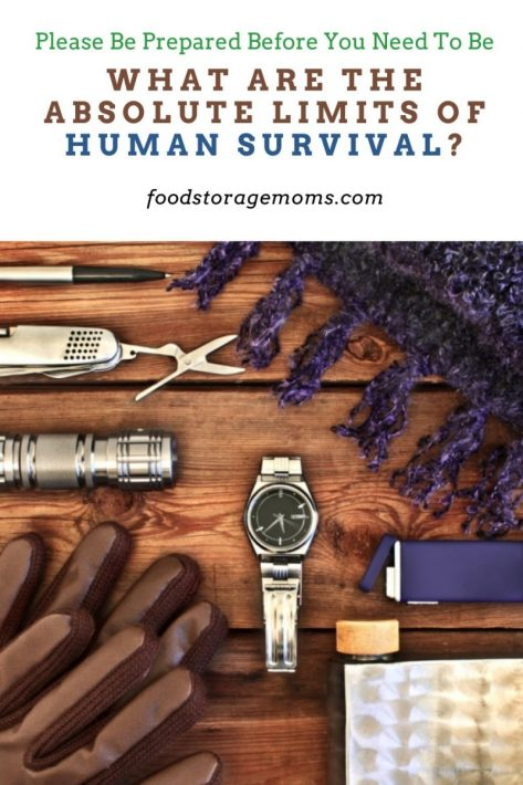 What are the Absolute Limits of Human Survival?