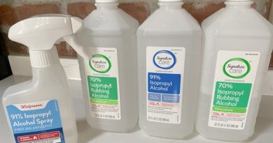 10 Reasons to Stock Up On Rubbing Alcohol