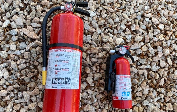 Fire Extinguishers: More Important than a Gun?