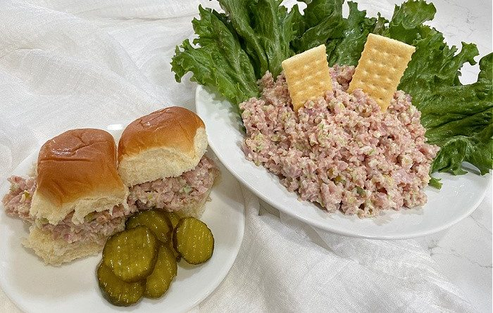 The Best Ham Salad