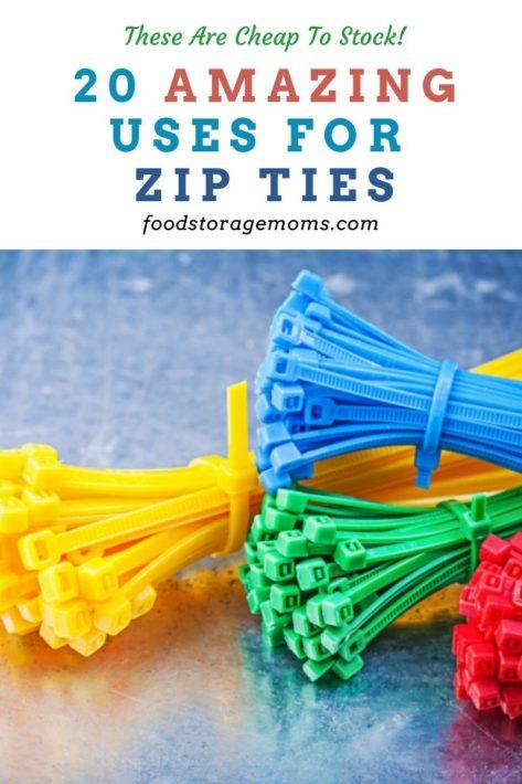 20 Amazing Uses for Zip Ties