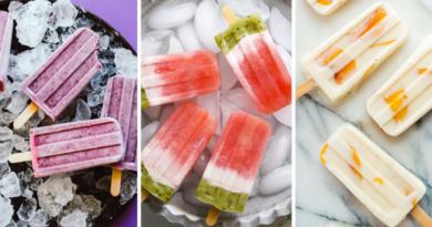 20 Refreshing Homemade Popsicles