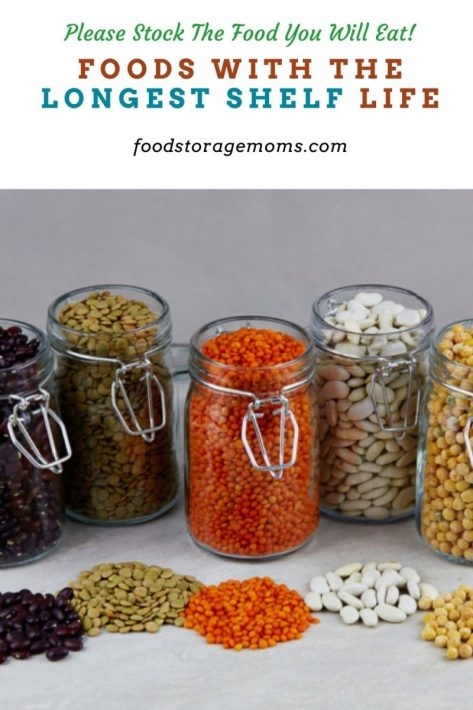 Foods with the Longest Shelf Life