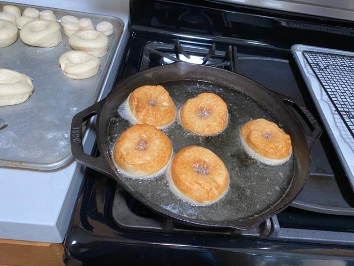 Cooking Doughnuts