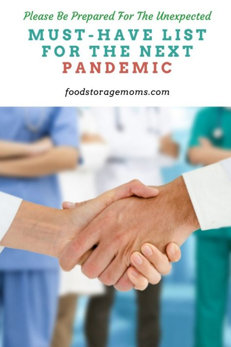 Must-Have List for the Next Pandemic