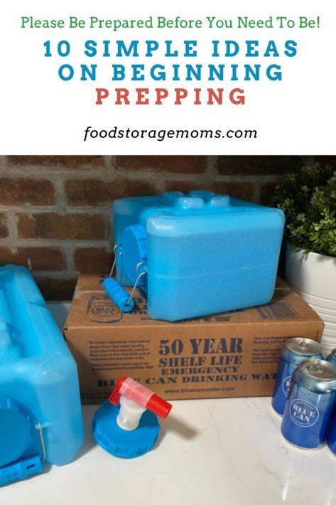 10 Simple Ideas on Beginning Prepping