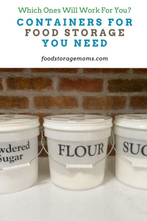 Containers for Food Storage You Need