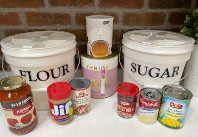 Food Storage: What I Have Changed