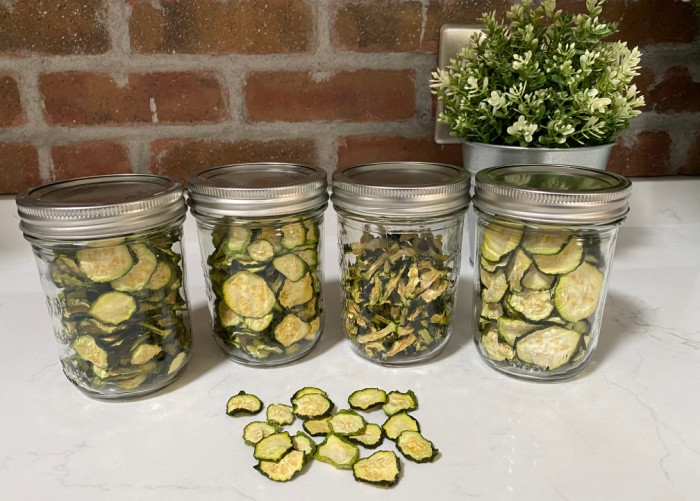 How To Dehydrate Zucchini-Sliced & Cubed