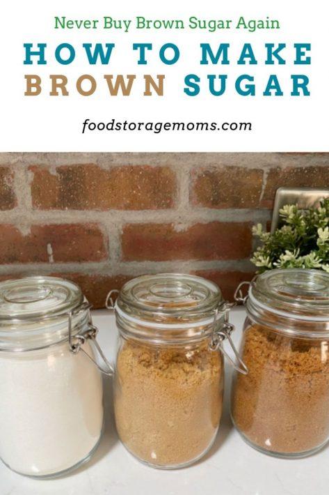 How to Make Brown Sugar