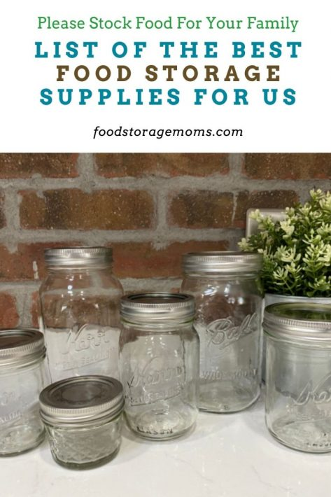 List of the Best Food Storage Supplies for Us