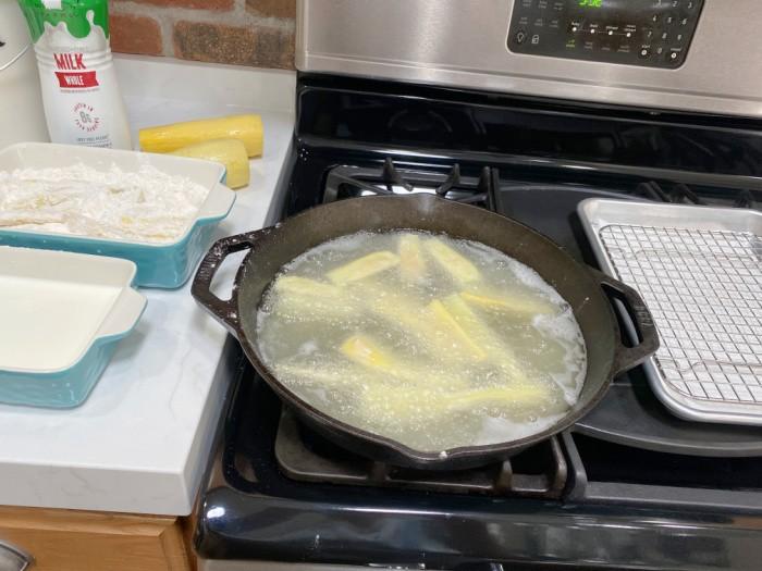 Frying the Squash