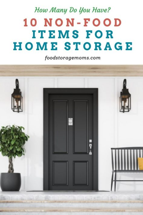 10 Non-Food Items for Home Storage