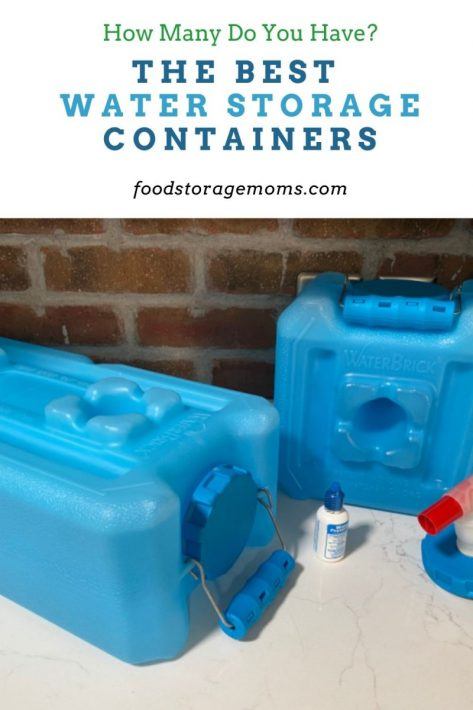The Best Water Storage Containers