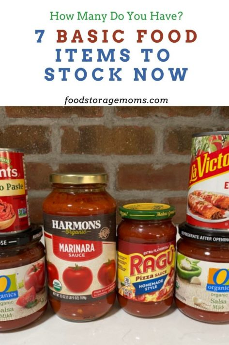 7 Basic Food Items to Stock Now