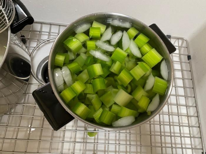 Celery in Ice