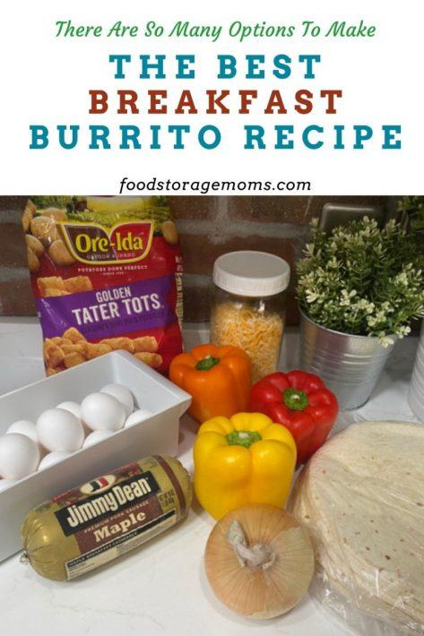 The Best Breakfast Burrito Recipe