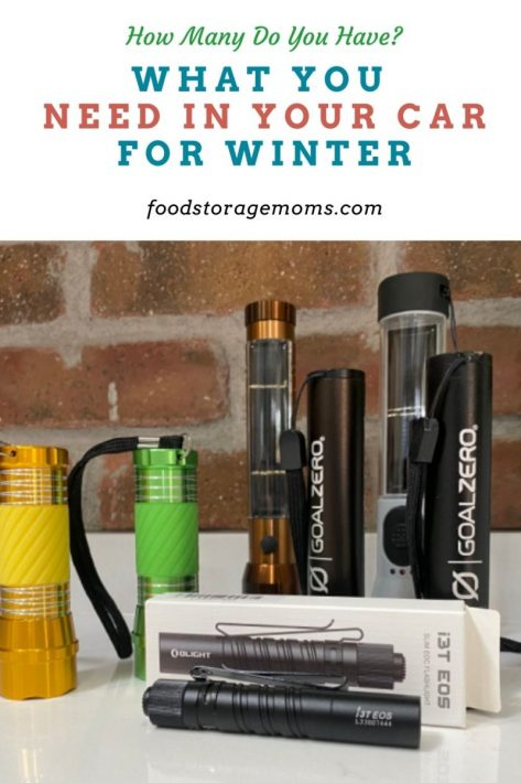 What You Need in Your Car for Winter