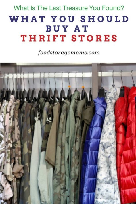What You Should Buy At Thrift Stores