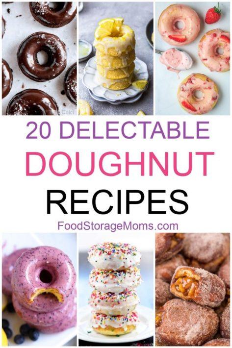 20 Delectable Doughnut Recipes