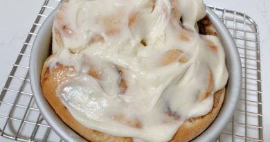Easy To Make Cinnamon Rolls for Two