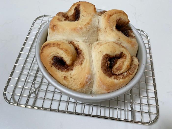 Baked Cinnamon Rolls