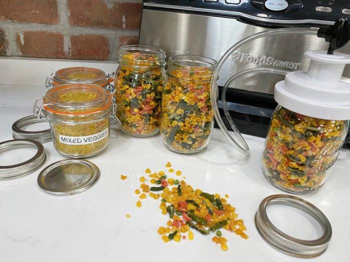 FoodSaver the jars