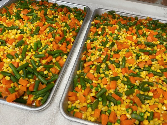 How To Dehydrate Frozen Vegetables