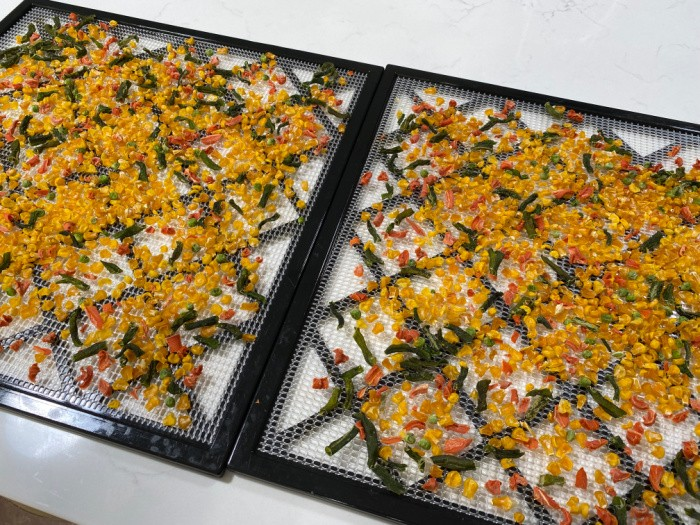 After Dehydrating