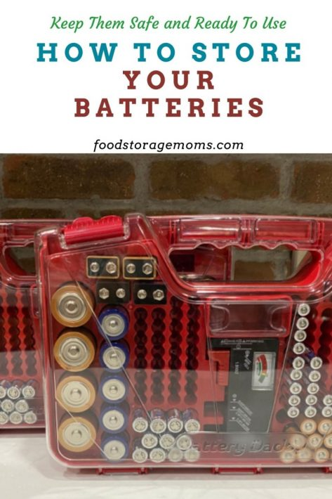 How To Store Your Batteries