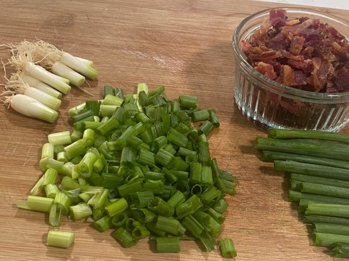 Bacon and Chive