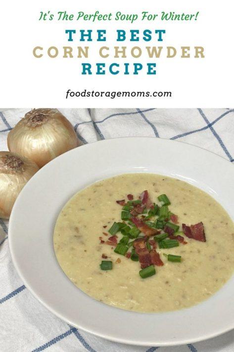The Best Corn Chowder Recipe