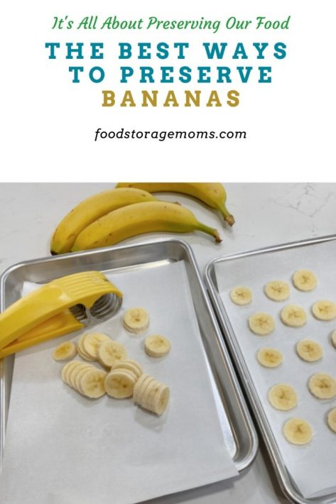 The Best Ways to Preserve Bananas