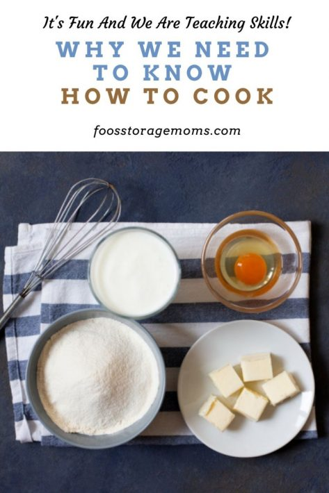 Why We Need To Know How To Cook